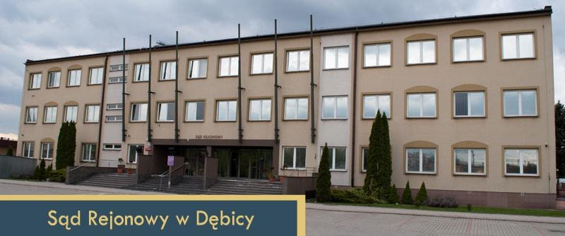 Sąd Rejonowy w Dębicy - ul. Słoneczna 3 i godziny pracy sądu